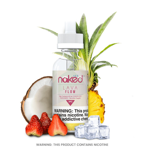 Lava Flow Ice 50ml E-Liquid by Naked 100
