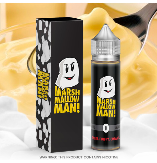 Marina Vape Marshmallow Man! E-Liquid 50ml