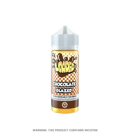 Chocolate Glazed Donut 100ml E-Liquid by Loaded