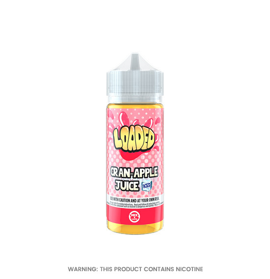 Cran-Apple Juice Iced 100ml E-Liquid by Loaded