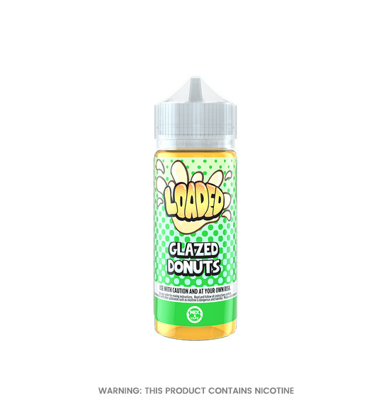 Glazed Donuts 100ml E-Liquid by Loaded