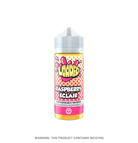 Raspberry Eclair 100ml E-Liquid by Loaded