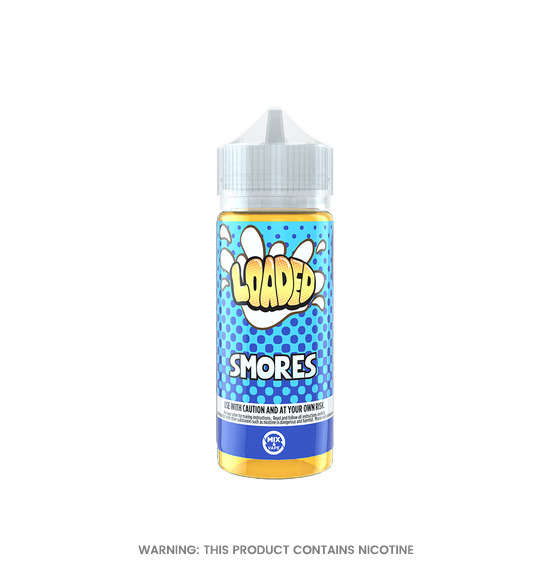 Smores 100ml E-Liquid by Loaded