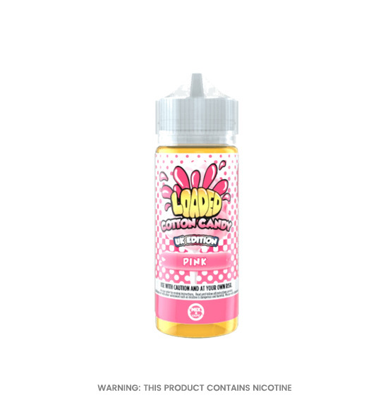Cotton Candy 100ml E-Liquid by Loaded
