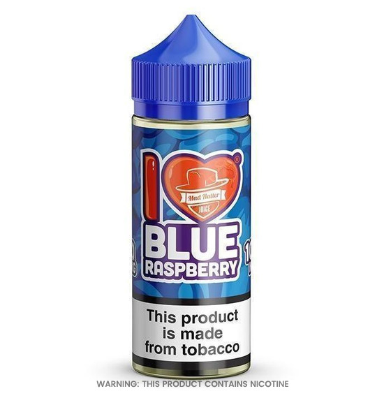 I Love Candy Blue Raspberry 80ml E-Liquid by Mad Hatter