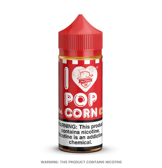 I Love Popcorn 80ml E-Liquid by Mad Hatter
