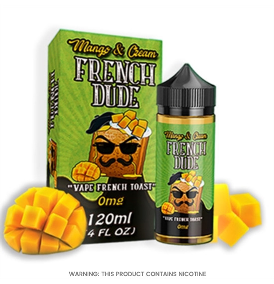 French Dude Mango and Cream 100ml E-Liquid by Vape Breakfast Classics
