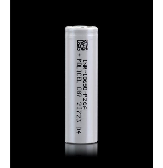 P26A 18650 Battery by Molicel