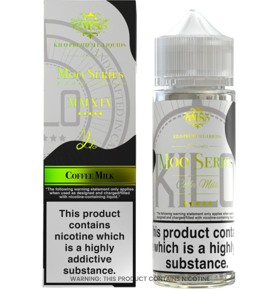 Coffee Milk 100ml E-Liquid by Kilo