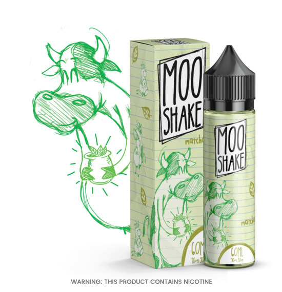Moo Shake Matcha E-Liquid 50ml