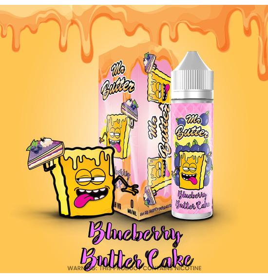 Blueberry Butter Cake 50ml E-Liquid
