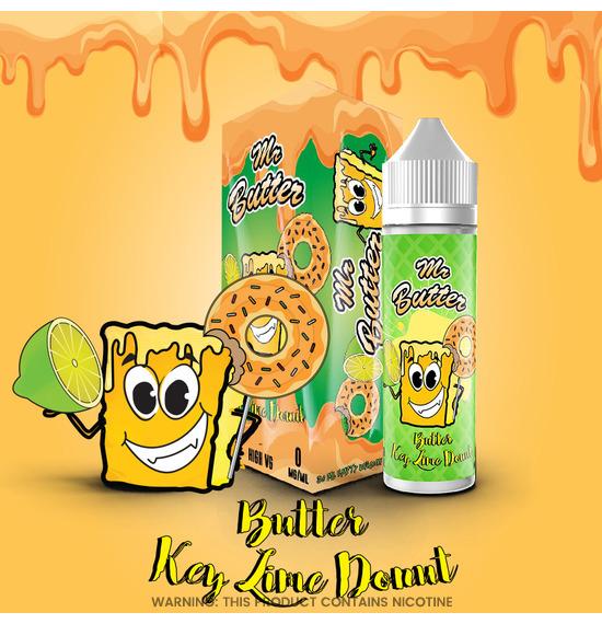 Butter Key Lime Donut 50ml E-Liquid