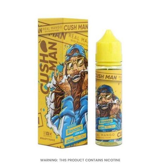 Cush Man Series Mango Banana 50ml E-Liquid by Nasty Juice