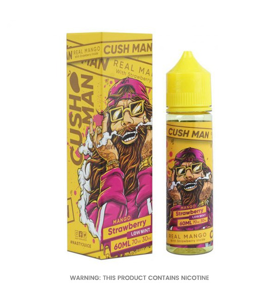 Cush Man Series Mango Strawberry 50ml E-Liquid by Nasty Juice