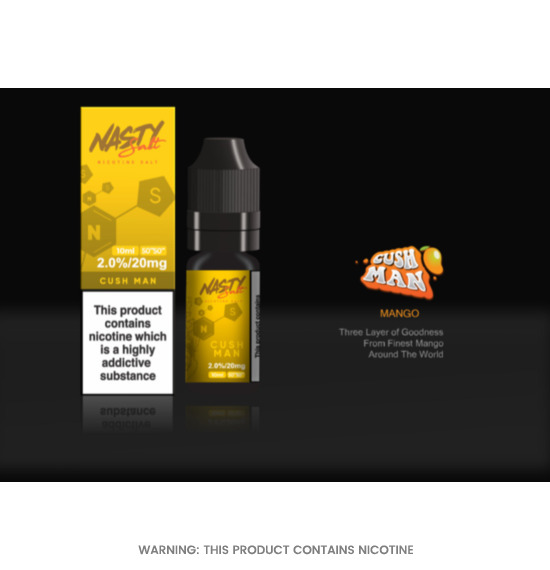 Nasty Juice Cush Man Nic Salt E-Liquid 10ml