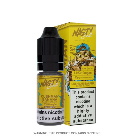 Nasty Juice Nic Salt Cush Man Banana E-Liquid 10ml