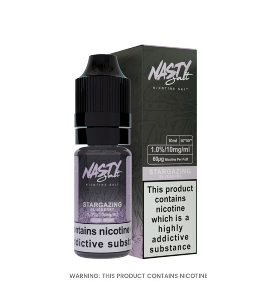 Star Gazing 10ml Nic Salt E-Liquid by Nasty Juice