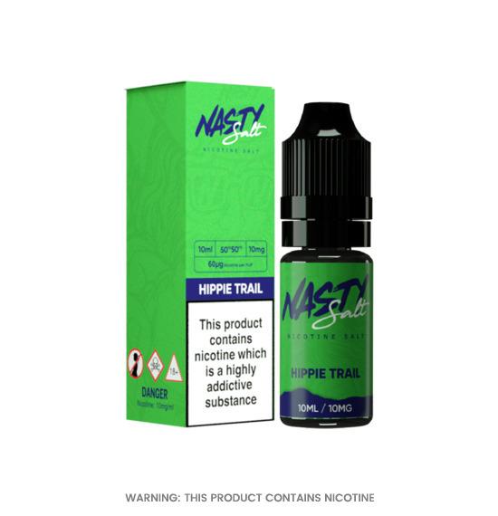 Nasty Juice Hippie Trail  Nic Salt E-Liquid 10ml