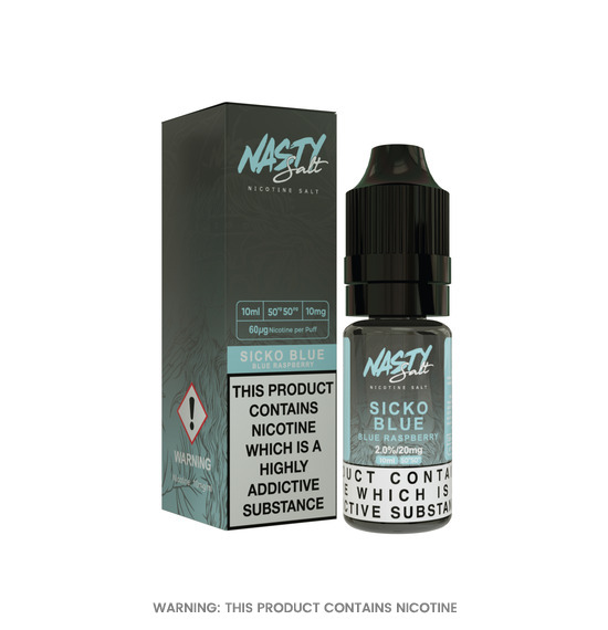 Sicko Blue Nic Salt 10ml E-Liquid by Nasty Juice