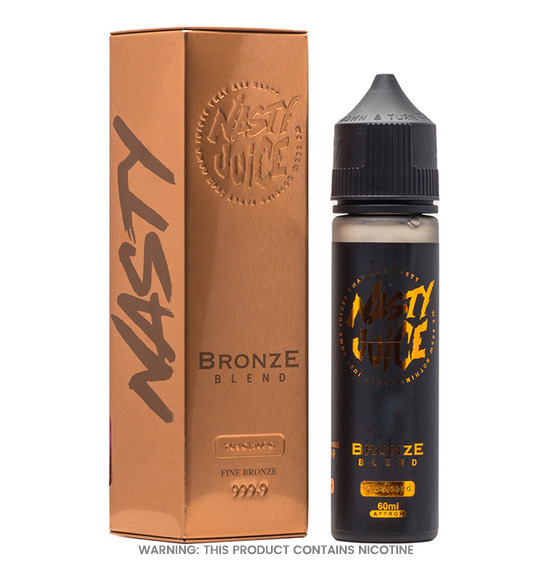 Bronze Blend 50ml E-Liquid by Nasty Juice