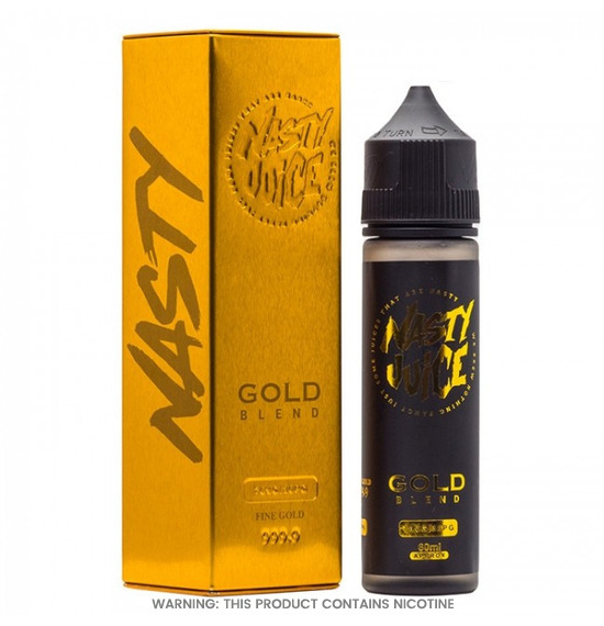 Gold Blend 50ml E-Liquid by Nasty Juice