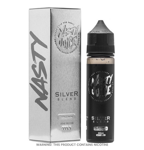 Silver Blend 50ml E-Liquid by Nasty Juice