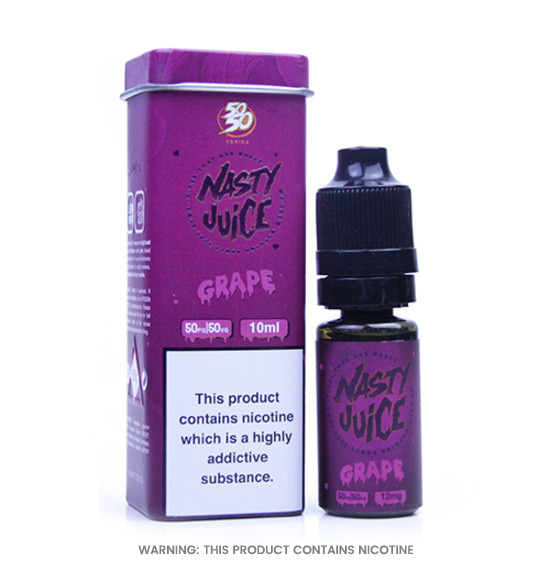 Nasty Juice ASAP Grape 50/50 E-Liquid 10ml