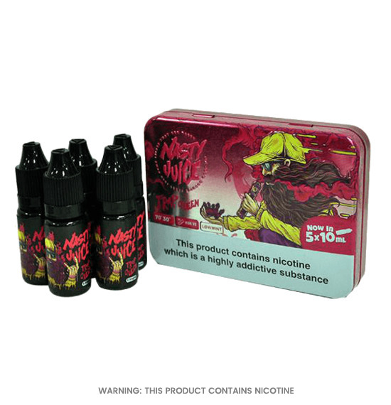 Trap Queen Pack of 5 E-Liquid by Nasty Juice