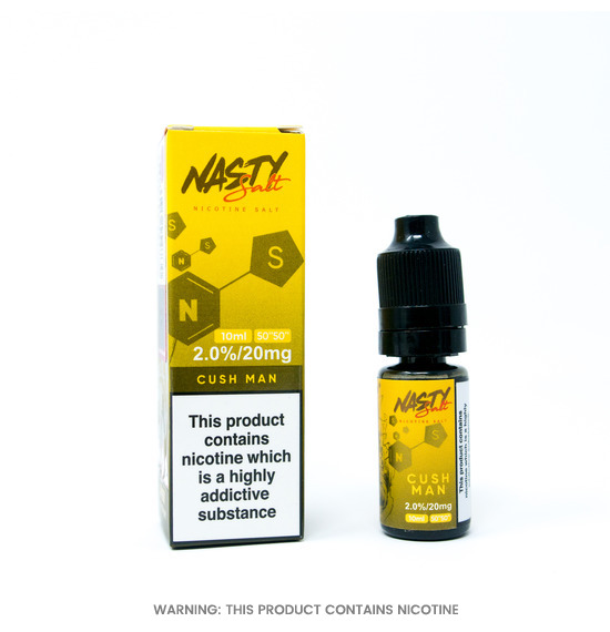 Cush Man Nic Salt 10ml E-Liquid by Nasty Juice