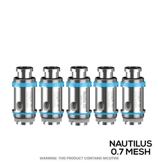 Nautilus XS Replacement Coils by Aspire