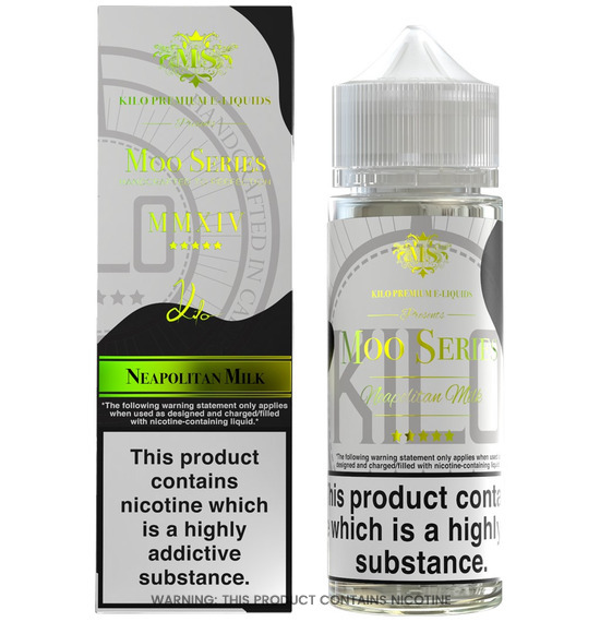 Neapolitan Milk 100ml E-Liquid by Kilo