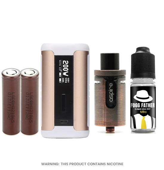 Aspire Cleito EXO with Speeder Mod Package