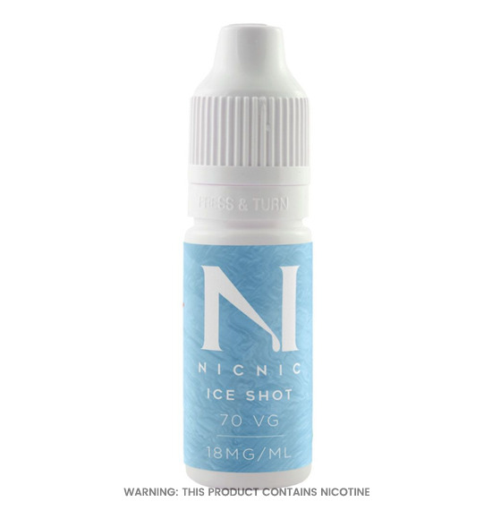 Nicotine Ice Shot 10ml by Nicnic