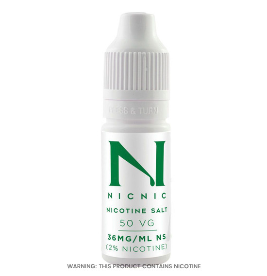 Nicotine Salt Shot 10ml by Nicnic