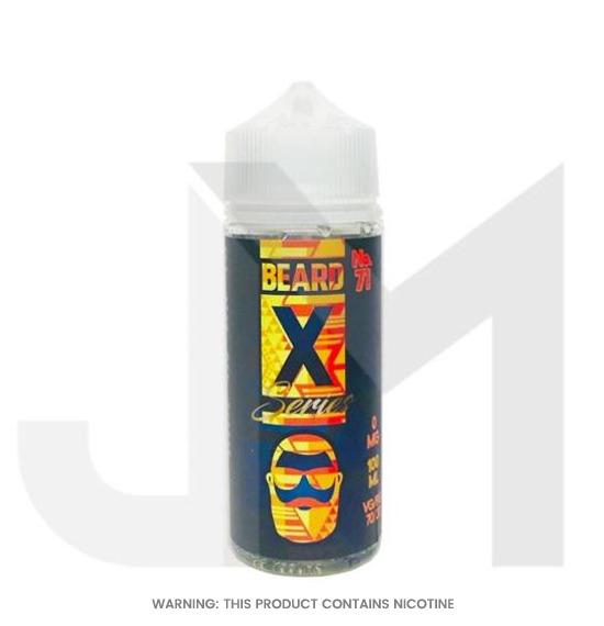 Beard X Series No.71 E-Liquid 100ml