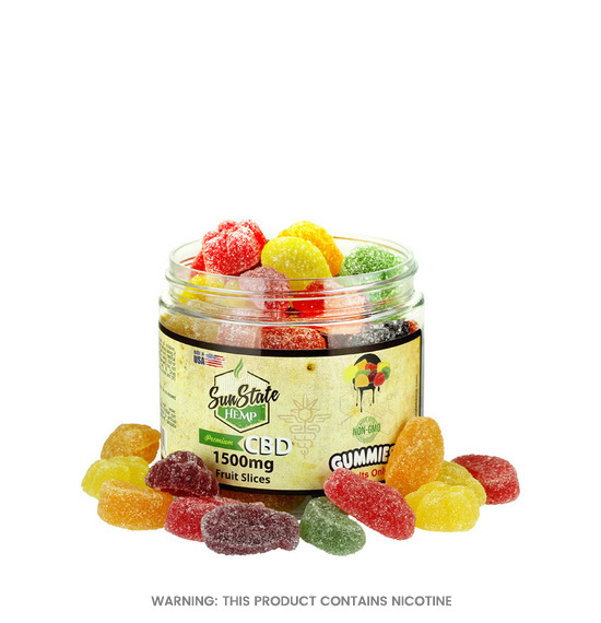 Fruit Slices CBD Gummies by Sun State Hemp