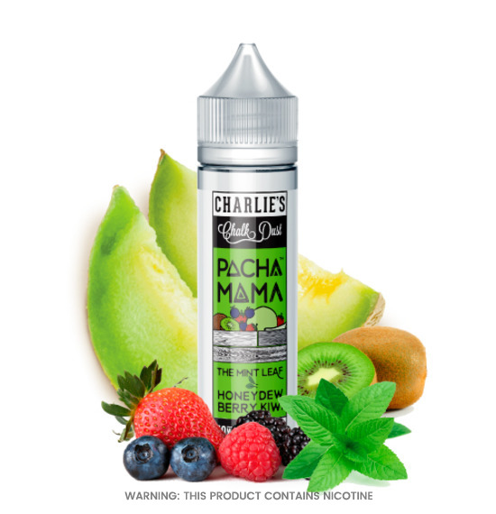 Charlies Chalk Dust Pacha Mama The Mint Leaf Honeydew Berry Kiwi E-Liquid 50ml