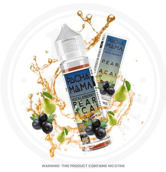 Charlies Chalk Dust Pacha Mama Huckleberry pear Acai E-Liquid 50ml