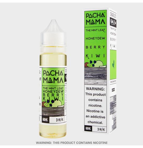 Charlies Chalk Dust Pacha Mama The Mint Leaf Honeydew Berry Kiwi E-Liquid
