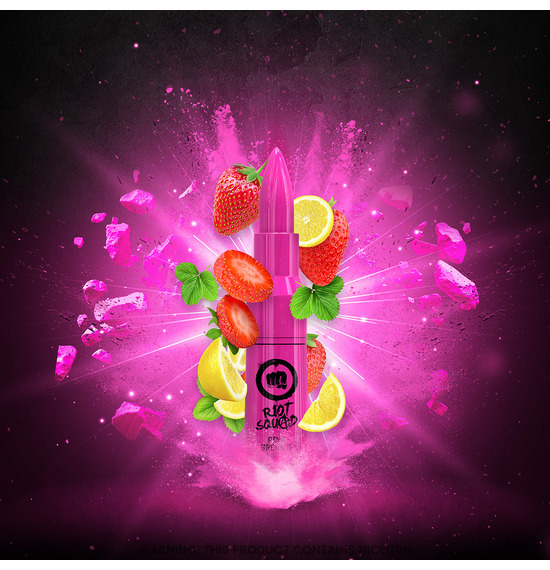 Pink Grenade 50ml E-Liquid by Riot Squad