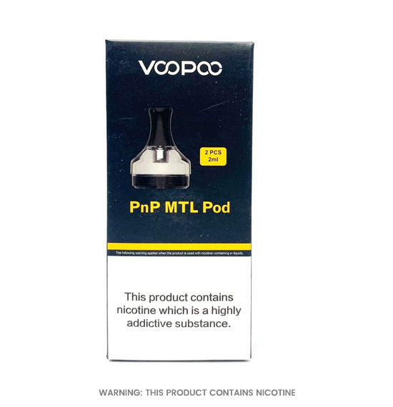 PnP MTL Replacement Pods by Voopoo