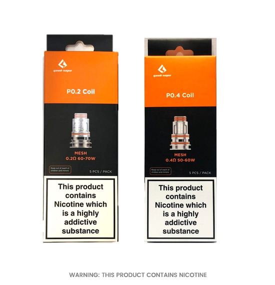 Aegis Boost Pro P Series Replacement Coils by Geekvape