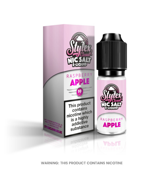 Stylex Cloud Raspberry Apple Nic Salt E-Liquid 10ml