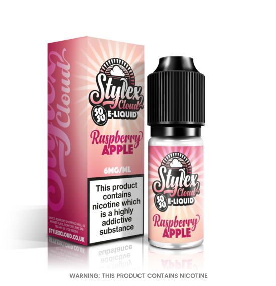 Stylex Cloud Raspberry Apple E-Liquid 10ml