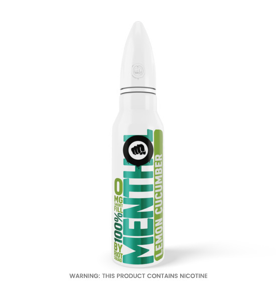 Riot Squad Menthol Lemon Cucumber E-Liquid 50ml