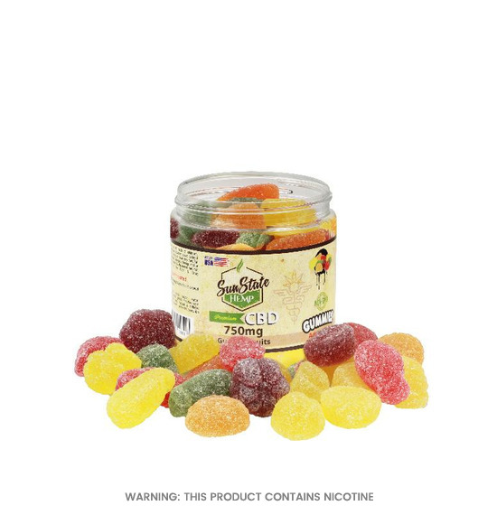 Gummy Fruits CBD Gummies by Sun State Hemp