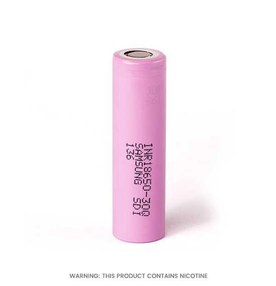 30Q 18650 Rechargeable Battery by Samsung
