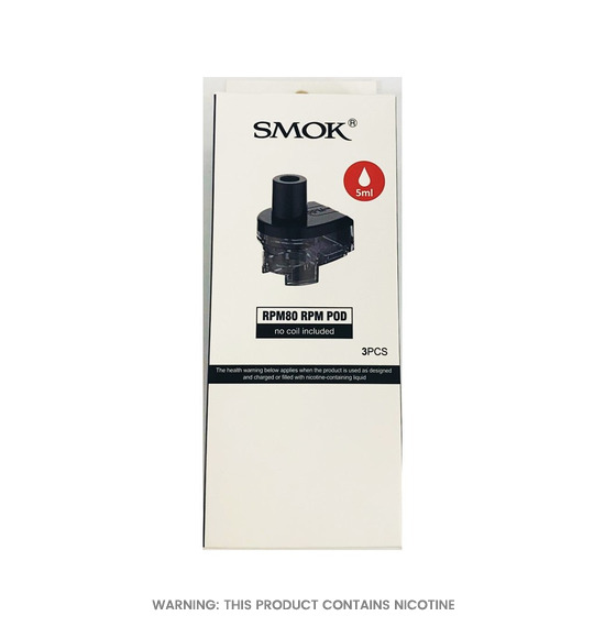 RPM80 RPM Replacement Pods by Smok