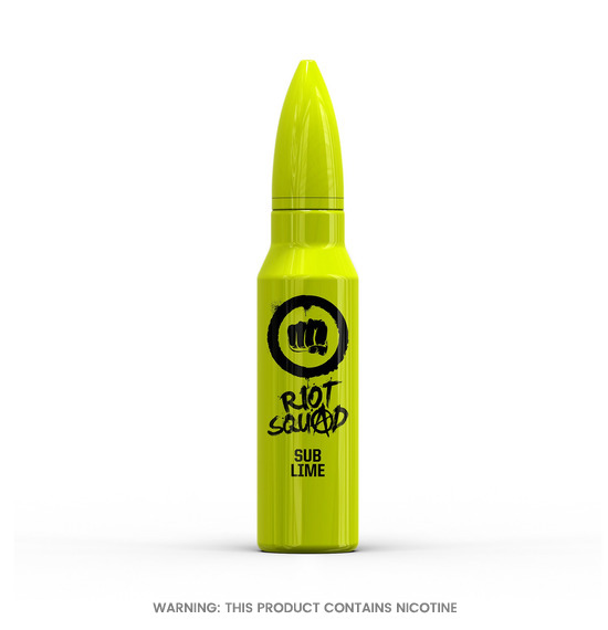 Riot Squad Sub Lime E-Liquid 50ml