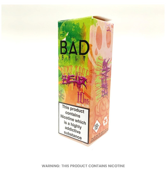 Bad Drip Dont Care Bear Nic Salt E-Liquid 10ml